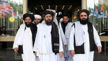 Afghan Taliban delegation arrives in Pakistan to discuss peace talks