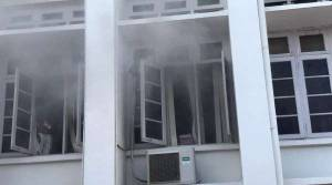 The fire broke out at the general administration department of the secretariat in Thiruvanathapuram.