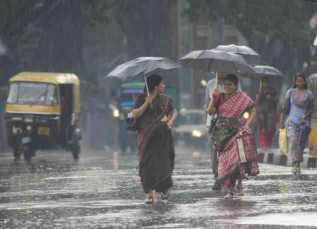 Heavy monsoon showers are expected to continue in coastal and south interior Karnataka