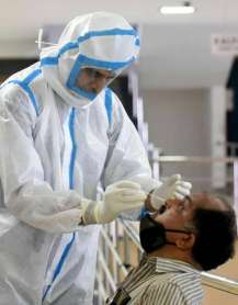 India sets a global record of 99,181 covid-19 cases on Thursday, tally crosses 44 lakh