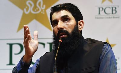 Pakistan coach Misbah-ul-Haq Calls On Cricket Rivals To Tour Pakistan