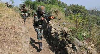 Firing and motor shelling in J&K